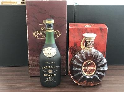 お酒買取 レミーマルタン XO スペシャル 700ml ブルネル ナポレオン 700ml お酒高く売るなら 京都MARUKA大宮店へ