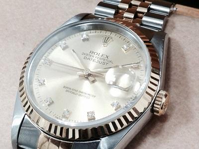ロレックス買取 デイトジャスト 10Pダイヤ 116233G ロレックス売るなら時計買取MARUKA心斎橋店