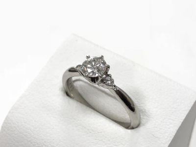 ダイヤモンドリング買取 0.345ct ダイヤ買取 宝石売るならMARUKA大阪心斎橋店