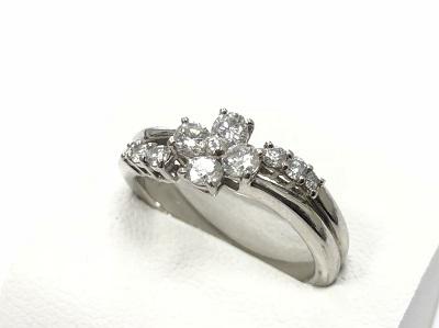 プラチナ ダイヤリング買取 ジュエリー 宝石買取なら 神戸市 元町 三宮 MARUKA