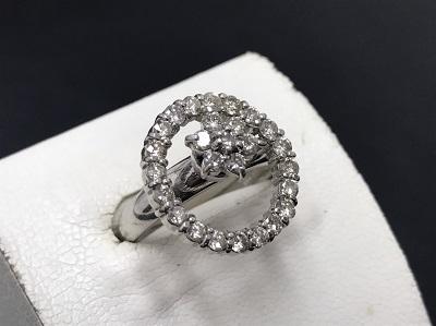 ダイヤモンド買取 Pt900 1.05ct 8.3g 宝石 七条 買取