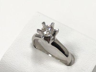 ダイヤモンド買取 ダイヤプラチナリング 0.439ct 3.5g ダイヤ買取ならMARUKA大阪心斎橋店
