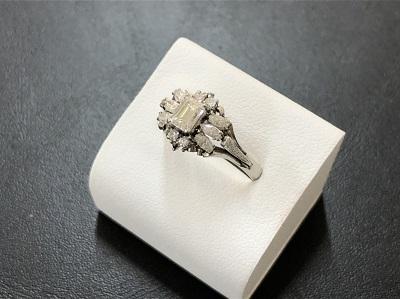 ダイヤモンドリング 0.5カラット プラチナ 宝石 ノンブランド 買取 京都 四条 河原町 祇園 マルイ店
