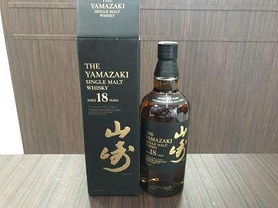 お酒買取 サントリー 山崎 18年 700ml 箱付 お酒買取も MARUKA大宮店にお任せ下さい。