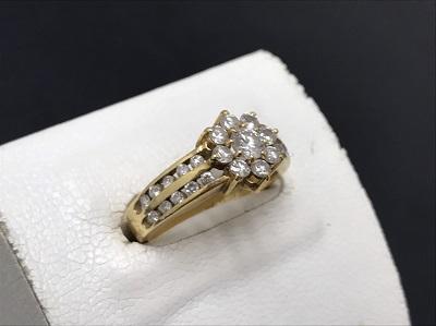 ダイヤ買取 金買取 K18 高価買取 ダイヤリングを売るならマルカ 京都 四条 河原町 マルイ