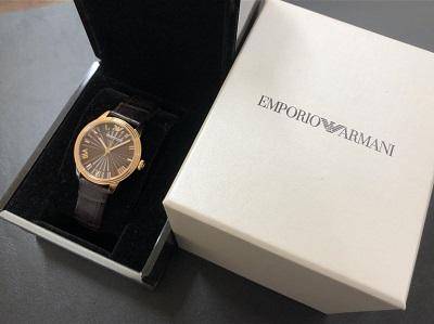 エンポリオアルマーニ レディースウォッチ AR-1619 時計 ブランド 買取 京都 河原町 東山 マルイ店