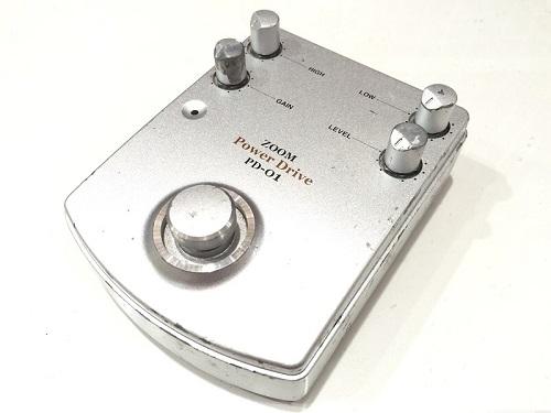 ZOOM ズーム PD-01 Power Drive エフェクター買取 楽器買取 京都 四条烏丸 河原町