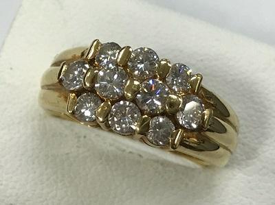 ダイヤモンド買取 K18 ダイヤモンド 1.5ct リング ダイヤモンド高く売るなら 京都MARUKA大宮店へ