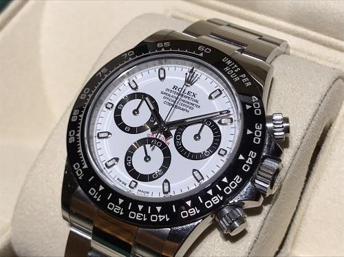 ロレックス コスモグラフデイトナ 116500LN 中古品 最新型 白文字盤 時計 買取 四条 河原町 京都マルイ店