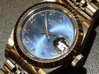 ロレックス買取 レディースデイトジャスト 79174 ローマ 時計買取なら大阪マルカ心斎橋店