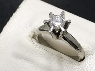 ダイヤモンドリング 0.5カラット プラチナ900 宝石 貴金属 高価買取 京都 河原町 祇園 マルイ店