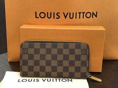 ルイ ヴィトン買取 ジッピーウォレット エベヌ N60046 GI2108 新品 ルイ ヴィトン高く売るなら 京都MARUKA大宮店へ