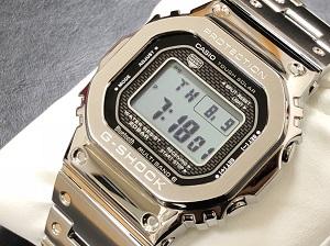 カシオ買取 Gショック35周年記念モデル Ref.GMW-B5000 フルメタルGショック!