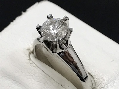 ダイヤモンド買取 1.010ct リング買取 Pt900 プラチナ 宝石買取 西大路通 JR西大路駅 西七条 七条店