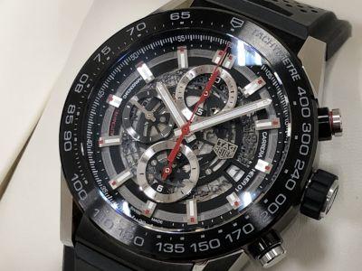 タグホイヤー買取 ホイヤー01 機械式時計老舗ホイヤー 時計売るならMARUKA心斎橋店