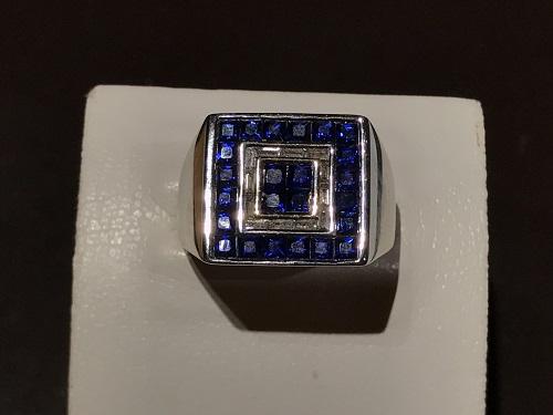 サファイア 指輪 京都 四条 烏丸 買取 リング 宝石 ジュエリー 宝飾品