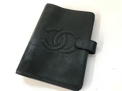 シャネル 手帳カバー買取 ブラック ブランド品買取なら兵庫県 西宮 尼崎 芦屋MARUKAへ