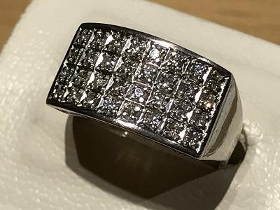 指輪 リング ダイヤモンド プラチナ  京都 四条 烏丸  買取