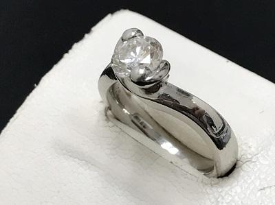 ダイヤモンド買取 1.01ct リング Pt900 プラチナ買取 宝石買取 下京区 西七条 西大路 七条店