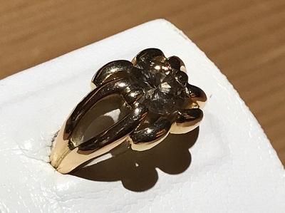 ダイヤモンド買取 K18 1.55 12.3g 宝石 四条 買取