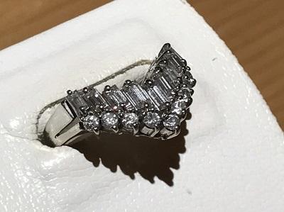 ダイヤモンド買取 Pt900 1.00 6.2g 宝石 四条 買取