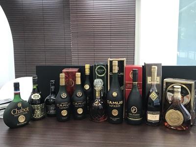 お酒買取 カミュ レミーマルタン シャボーなど古酒 11本買取 お酒高く売るなら 京都MARUKA大宮店へ