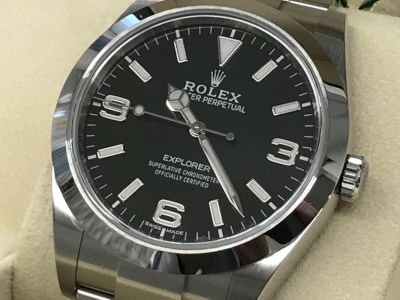 ロレックス買取 エクスプローラーⅠ ランダム 美品 時計買取なら大阪MARUKA心斎橋店