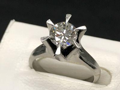 ダイヤモンド買取 1.08ct プラチナ台 古いダイヤモンドもしっかり鑑定 MARUKA心斎橋店