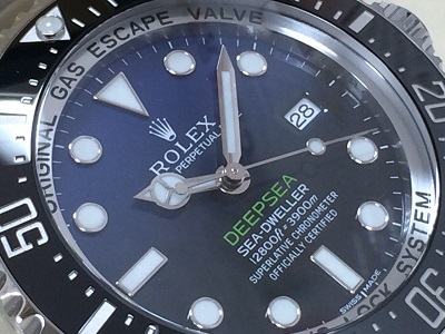 ロレックス買取 ディープシー 116660 ランダム 時計買取ならやっぱりMARUKA心斎橋店