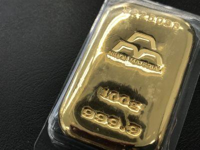純金インゴット買取 日本マテリアル 100.0g 金買取は全国のMARUKAへ