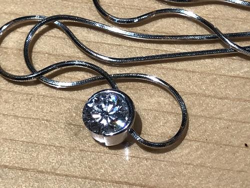 ダイヤモンド ネックレス 宝石 プラチナ ジュエリー ペンダント