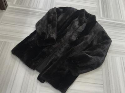 毛皮買取 ミンク ショートコート ブラック 毛皮高く売るなら 京都MARUKA大宮店へ