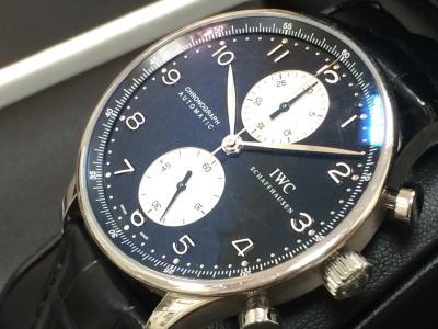 IWC買取 ポルトギーゼクロノグラフ IW371404 時計買取ならMARUKA心斎橋店