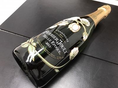 ペリエ・ジュエ買取 ベルエポック買取 ブリュット シャンパン お酒 下京区 西七条 西大路 七条店