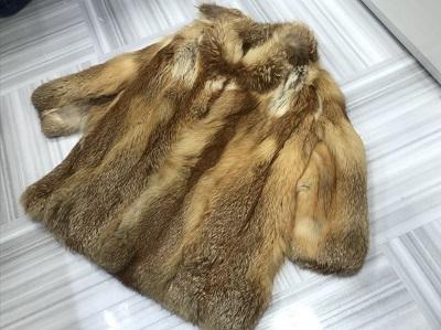 毛皮買取 EMBA フォックスファー ショートコート 毛皮高く売るなら MARUKA大宮店へ