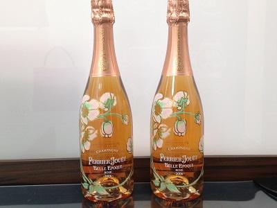 シャンパン買取 ベルエポック・ロゼ お酒買取はワインもウイスキーもMARUKA心斎橋店へ