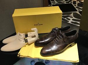 ジョンロブ買取 フィリップⅡ 未使用品 高級紳士靴買取もマツモトキヨシビル6階のマルカ銀座本店まで!
