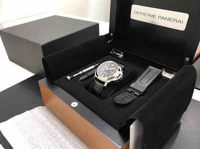 パネライ買取 ルミノールマリーナ買取 PAM00104 腕時計買取 JR西大路駅 下京区 七条店