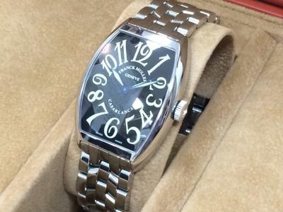 フランクミュラー買取 カサブランカ 6850MC 時計買取はすべてMARUKA大阪心斎橋店へ