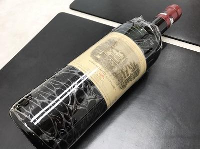 シャトー・ラフィット・ロートシルト買取り 1994年 ワイン買取 お酒 下京区 西七条 七条店