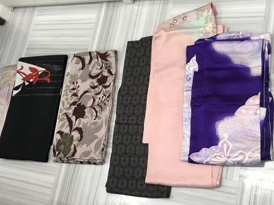 着物買取 訪問着 2枚 振袖 1枚 帯 2枚 着物高く売るなら MARUKA大宮店へ