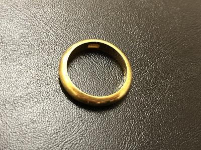 金買取 純金 K24 指輪 リング 四条河原町 祇園 東山 京都マルイ店