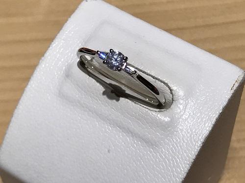 0.2ct ダイヤモンド買取 京都 四条  指輪 リング ジュエリー プラチナ