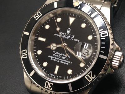 ロレックス買取 サブマリーナ 16610 購入時定価43万円が・・・ 時計買取MARUKA心斎橋店