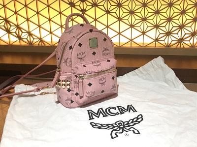 MCM買取 バックパック ミニサイズ スタッズ付き ブランドバッグ買取 渋谷 目黒