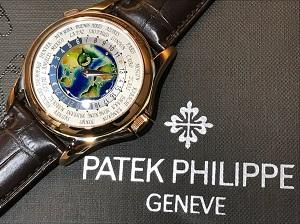 パテックフィリップ買取ワールドタイムクロワゾネ 5131R-001 パテックフィリップ名作モデル