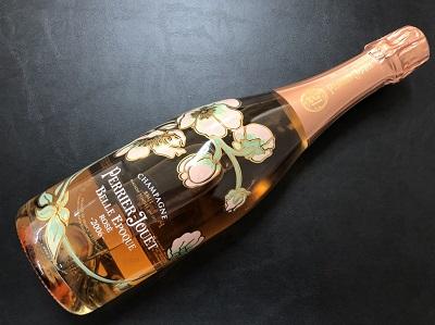 お酒 ペリエジュエ ベルエポック ロゼ シャンパン お酒買取 河原町 四条 マルイ店