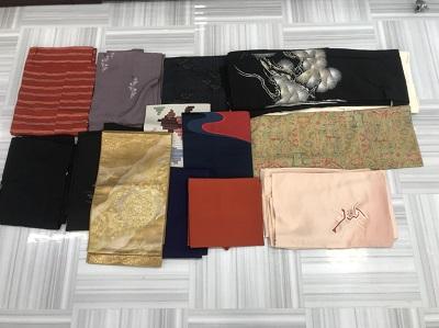 着物買取 大島袖 訪問着 留袖 羽織 帯 道行袖 15点 着物 高く売るなら MARUKA大宮店へ