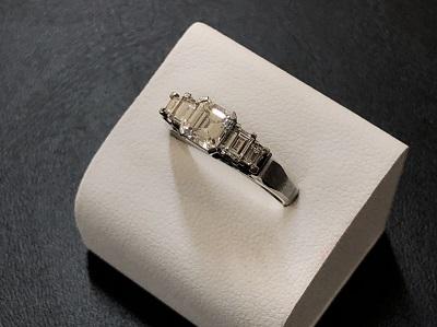 ダイヤモンドリング 1カラット プラチナ Pt900 宝石 ダイヤ買取 京都 四条 河原町 マルイ店