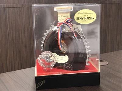 お酒買取 レミーマルタン ルイ13世 ベリーオールド 替え栓 クリアケース付 お酒高く売るなら MARUKA大宮店へ
